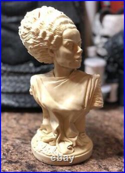 Bride Of Frankenstein Monster Resin Bust 1/4 Scale Resin Model Kit Mark Van Tyne