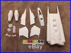 Buck Rogers Starfighter studio scale resin model kit