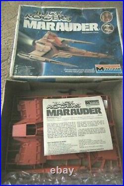 Buck Rogers in 25th C 1979 movie Starfighter 1/35 resin kit + Monogram Marauder