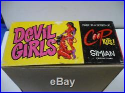 COOP DEVIL GIRLS 1/16 SCALE RESIN MODEL KIT by SIMIAN PRODUCTIONS