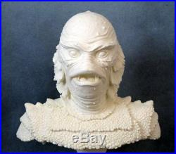 CREATURE FROM BLACK LAGOON ULTRA RARE RESIN BUST McVEY MENAGERIE 1993