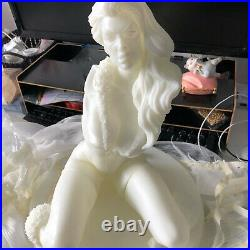 Catwoman Unpainted 1/4 H35cm/13.7in Figure 3D Print Model Kit Unassembled GK
