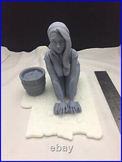 Cinderella 1/6 Resin Model based on Scott Campbell art