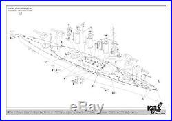Combrig 1/350 Battlecruiser HMS Tiger, 1914, resin kit #3534WL