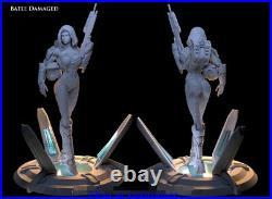 Cortana Master Chief 1/6 Figure Statue Resin Model Kits Unpainted 3D Printing