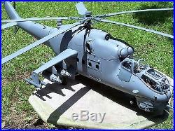 Custom Russian BBI 21st Century 1/18th Scale Resin Mi-24 HIND Model Kit