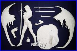 Dark Elf Luis Royo Fantasy 2018 1/4 Unpainted Figure Model Resin Kit