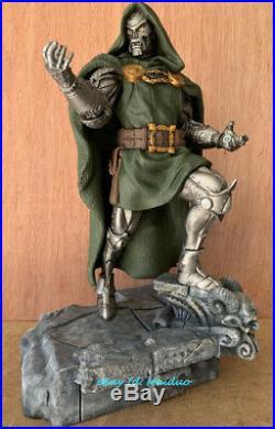 Doctor Doom Unpainted Resin Kits Model Figure 3D Print 32cm 1/6