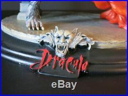 Dracula and Lucy Diorama Resin Model Hobby Kit 06DCC01