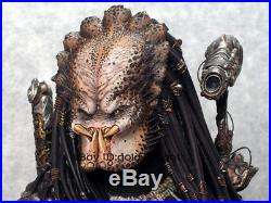 Elder Predator Unpainted Resin Garage Kit Unassembled Recast GK 34cmH Figure Hot