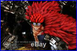 Eustass Kid Statue Resin Figure GK One Piece Model Kits ING Studio Pre-order