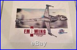 FM Models Star Wars B-wing Resin Model Studio Scale (Frank and Moe) un-built Kit