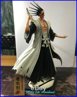FOC BLEACH Kenpachi Zaraki Statue Resin Model Kits GK Figurine Collectibles New