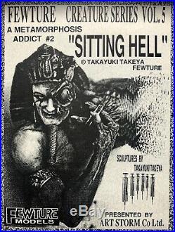 Fewture Sitting Hell resin model kit ORIGINAL Takeya