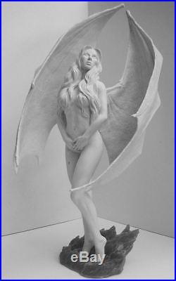 Fire Demoness Sculpted by Joe Laudati Rare Resin Kit