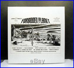 Forbidden Planet Diorama ID Monster Guns Et Al Resin Model Kit By Lunar Models