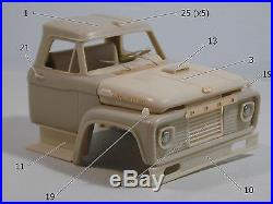 Ford F 850 125 scale resin cab kit not AMT not Revell