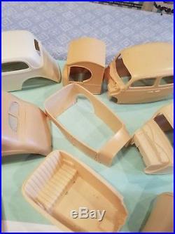 Ford Resin Body Lot (8) (1) Plastic