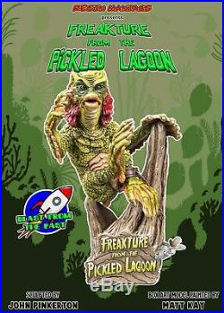 Freakture From The Pickled Lagoon Resin Model Kit Creature