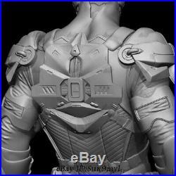 Future Batman Unpainted Resin Kits Model GK Statue 3D Print 30cm New