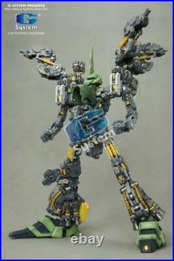 G System GS-281 1/72 NZ-666 Kshatriya Gundam resin model kit Unicorn robot toy
