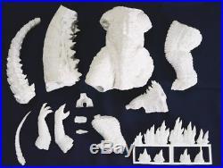 Godzilla 2014 King of Monsters Hugh Dinosaur Unpainted Figure Model Resin Kit