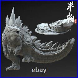 Godzilla-gojira Animal Unpainted GK Models 3D Print Figure Resin Garage Kits Toy