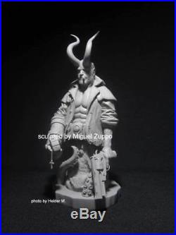 HELLBOY resin model kit 1/6 scale bust rare only 20 made worldwide # 13 RARE