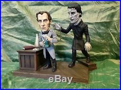 Hammer Frankenstein Cushing & Lee Superdeform Resin Model Kit by Randy Lambert