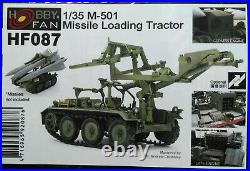 Hobby Fan 1/35 HAWK MIM-23 Use Missile Loading Tractor M501 Vehicle Fill resin