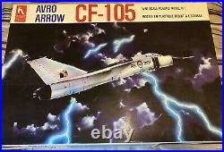 Hobbycraft 1/48 CF-105 Avro Arrow Kit NEW 1987 with Iroquois Models Resin Intakes