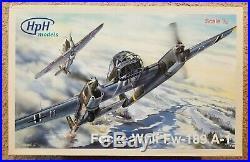 HpH Models 1/32 Focke-Wulf Fw189A-1 Resin/Multimedia Kit. New