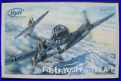 HpH Models 32030R Focke Wulf Fw-189 A-1 132 Flugzeug Bausatz Resin Kit