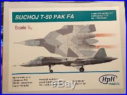 HpH Models Sukhoi T-50 PAK FA High End Limited Edition Resin Metal & More 1/48