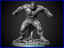 Hulk Unpainted Resin Kits Model GK Statue 3D Print 30cm 1/8 Scale