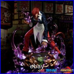 Iori Yagami Statue Resin Model Toys THE KING OF FIGHTERS JOMATAL Presale 30cm
