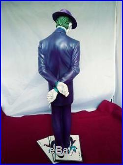 JOKER 1/5 SCALE RESIN MODEL KIT PAINTED STATUE batman villain BOLAND RARE