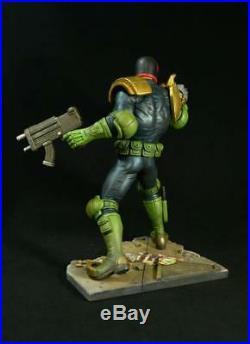 JUDGE DREDD 2000AD 1/6 scale resin model kit statue unpainted