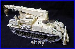 JVBT-55 Crane Recovery Tank CCCP resin conversion 1/35 PanzerShop Friul