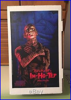 Janus Deluxe Imhotep Model Kit Im-Ho-Tep Karloff 16 Scale Resin