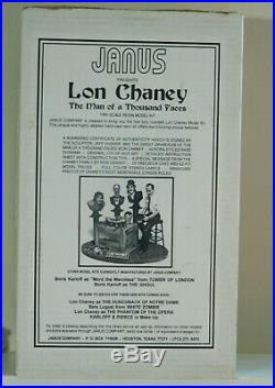 Janus Models LON CHANEY, Man of 1000 Faces 16 RESIN Model Kit Jeff Yagher 1995
