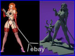 Jessica Rabbit Adult style 1/8 Resin Kit /Men's Gifts/ FanART