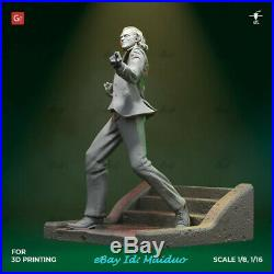 Joker Unpainted Resin Kits Model GK Figurine Statue 3D Print 1/6 30cm New