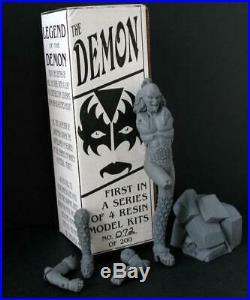 KISS Destroyer Gene Simmons Demon Rare Resin Model figure withBox 1995 Kit
