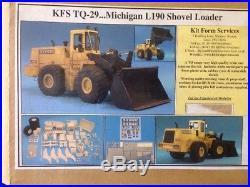 KIT FORM SERVICES TQ MICHIGAN L190 Shovel Loader Resin Kit