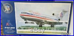 KMC 1/72 American Airlines Boeing 727-200 Injection & Resin Model Kit PA01 07201