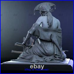 Katsumi Hannya mask 1/6 Figure Statue Resin Model Kits Unpainted 3D Printing