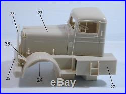 Kenworth Logger 1/25 scale resin cab kit limited series