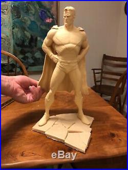 Kingdom Come Superman 1/6 resin kit Alex Ross Shawn Nagle Koma unbuilt