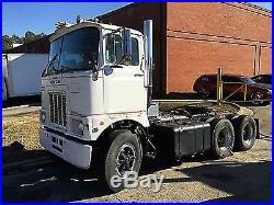 Kit Form Service #TQ46A Mack F Model Day Cab Cabover resin conversion. 1/24th